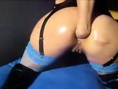 tramp fists anal on webcam claribel live on 720camscom
