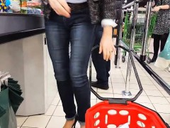 Granny Pumps And Very Sexy Jeans