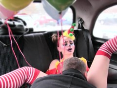 gal-in-clown-costume-fucked-by-the-driver-for-free-fare