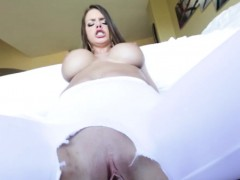 Bigtitted Model Rides Cock And Sucks Hard