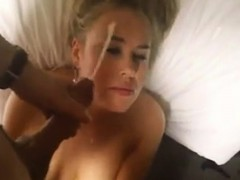 blonde-wife-unwanted-facial-that-is-huge