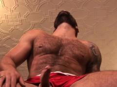 Muscular Bear Assfucking Foot Lover Until Cum