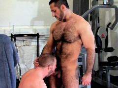 throating-muscly-bear