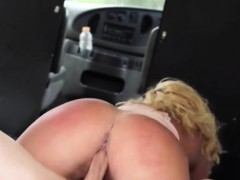 blonde fucks for a ride