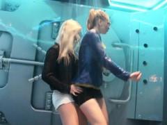 Wetlook Girls Dirty Dancing In The Shower Room 2