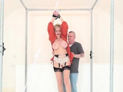Adulterous british mature gill ellis displays her big boobs