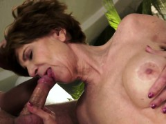 Faketit Granny Jizzed In Mouth After Fucking