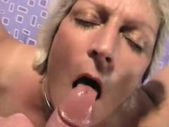Amateur Grandma Loves The Cock And The Semen