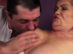 Hairy Granny Susanne Rough Bang