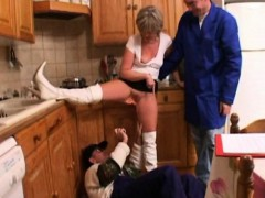 Christine Fucked By 2 Plumbers