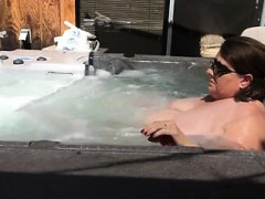 masturbating-in-the-hot-tub