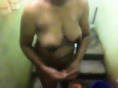 hidden cam caught wife showering