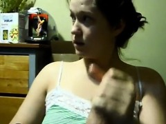 amateur-teen-giving-handjob-to-this-lucky-guy