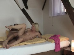 blonde-mother-in-law-pleases-him