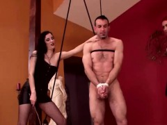 Three Mistresses And One Helpless Slave