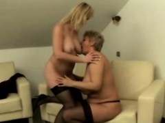 mature ladies having amazing lesbian sex