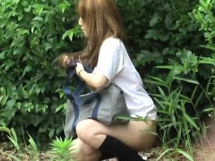 Crazy Public Flashers Outdoor Squirting
