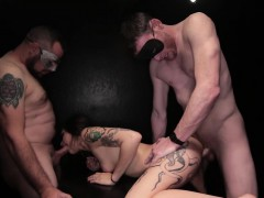 skinny-brunette-hottie-gets-dicked-down-by-5-masked-guys