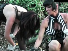 sexy-female-domination-with-hard-ball-crushing-and-footjob