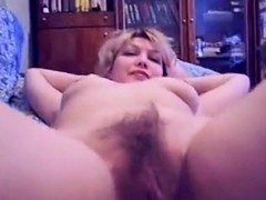 Amateur Russian Babe Fucked Hard In Her Hairy Twat