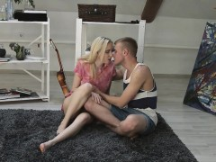 Young Blonde Isabel Stern Plays Around And Gets Buttfucked