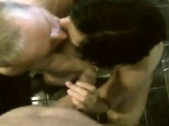 Affable Homemade Mmf Bisexual Sucking