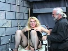 bare-woman-bizarre-bondage-at-home-with-lewd-man