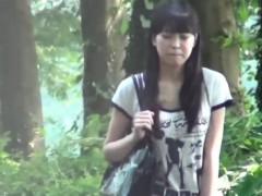 Japanese Teen Slut Peeing
