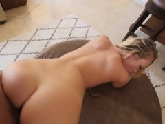 Big Boob Blonde Hottie Taking A Doggy Style Pounding In Pov