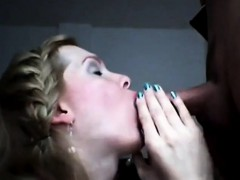 Hot Milf Lipstick Fetish Blowjob
