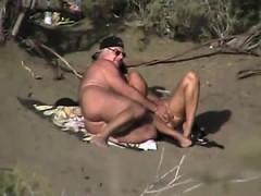 public voyeur enjoys nude beach sex WWW.ONSEXO.COM