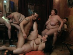 hot bbw party sex in the big club