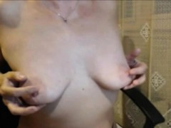 Horny Mature Stripteasing And Seducing