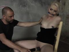 gagged-blonde-bdsm-sub-toyed-by-maledom