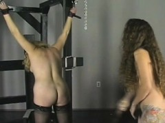 Extraordinary Bondage With Sexy Mama And Young Daughter