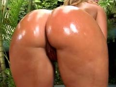 Meaty Dick Penetrates Wet Holes Of Seductive Brazilian Babe