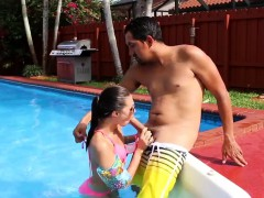 Homemade Teen Cam Solo Swimming In Semen