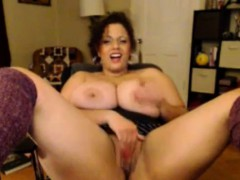 BBW amateur with huge boobs has sex with a skinny guy xnxx