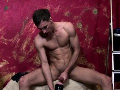 Muscle Twink Toys Cock And Wanks Solo