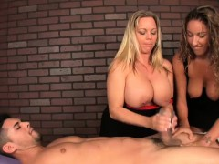 Two Ladies Decide To Test Their Massaging Skills