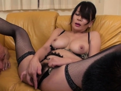 horny-japanese-gets-juicy-with-large-dildo-fingering-pussy