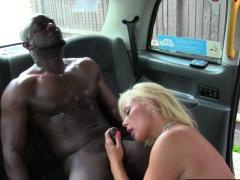 British milf cabbie gets jizzed in mouth
