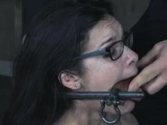 Mummified Teen Deepthroat Training!