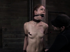 Restrained Redhead Gets Dominated Over