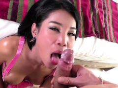 Ladyboy Cartoon With Her Nasty Man Banging In Bed