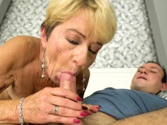 Spunked Grandmother Fucks