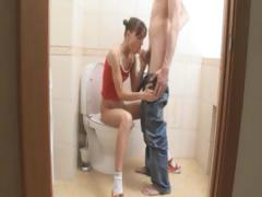 blowjob-and-banging-in-bathroom