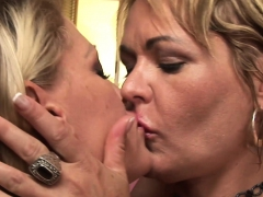 Naughty Dyke Milf Moms Go All The Way Lesbian