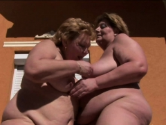 Old Babe And Her Girlfriend Are Having Fun