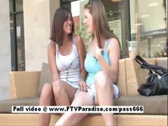 Lovely Amateur Naked Lesbians Flashing Outdoor